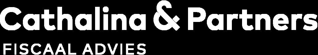 Logo wit Cathalina & Partners